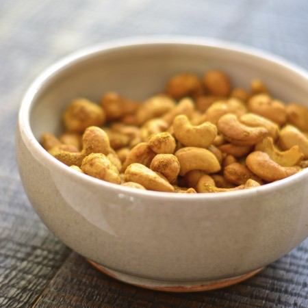 Curried Cashews