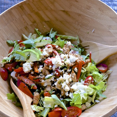 Five Minute Southwestern Chicken Salad