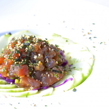 Five Minute Meals Ahi Tuna Poke