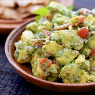 6 Ingredient Guacamole