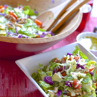 Valentine's Day Chopped Salad