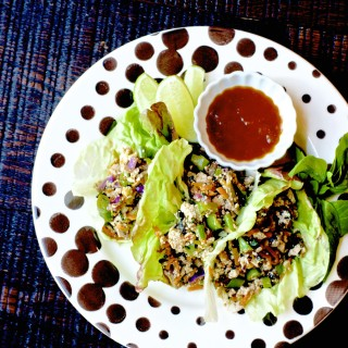 Spicy Vegan Lettuce Wraps